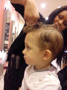 Mi primer corte de pelo