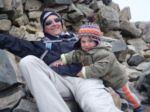 Nico y papá
