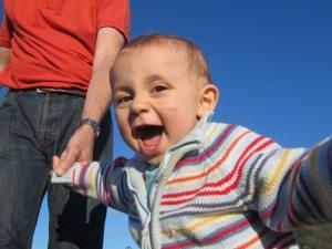 Nicolás feliz