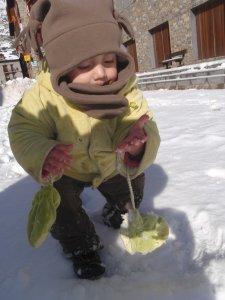 Nico y la nieve